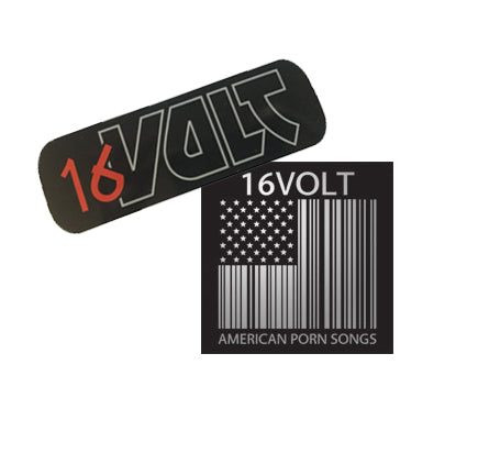 16 Volt Sticker Pack