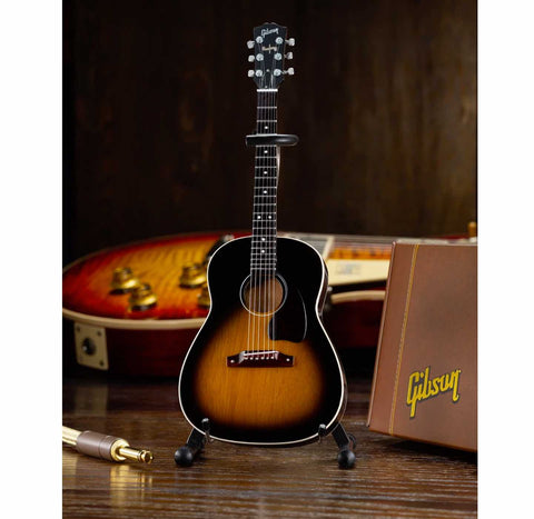 Axe Heaven Gibson J-45 Vintage Sunburst Mini Guitar Collectible