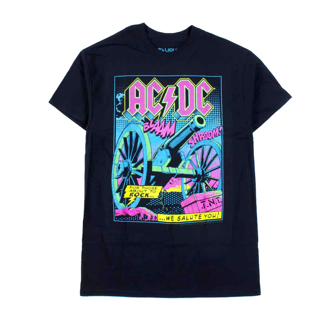 AC/DC TNT Cannon Blacklight Shirt