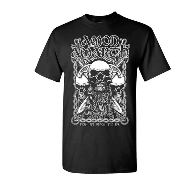 Amon Amarth Bearded Skull Shirt