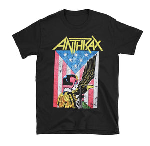 Anthrax Dredd Eagle Shirt