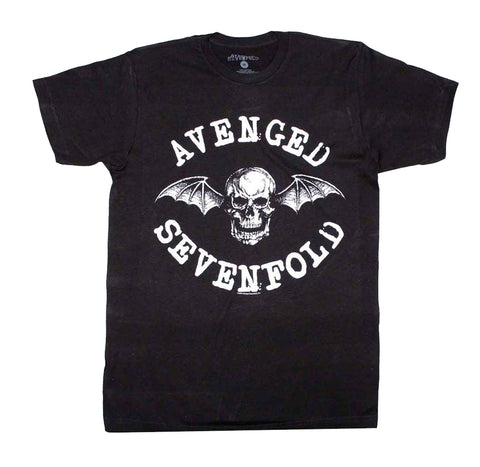Avenged Sevenfold Skull Deathbat Shirt
