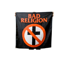 Load image into Gallery viewer, Bad Religion Cross Buster Flag