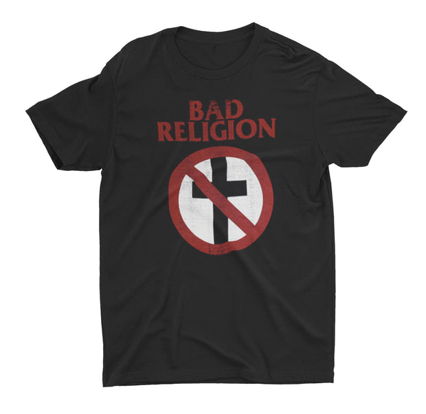 Bad Religion Cross Busters Distressed Shirt