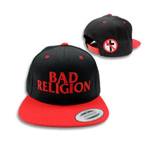 Load image into Gallery viewer, Bad Religion Logo Snapback Hat