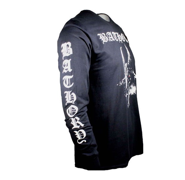 Bathory White Goat Long Sleeve Shirt