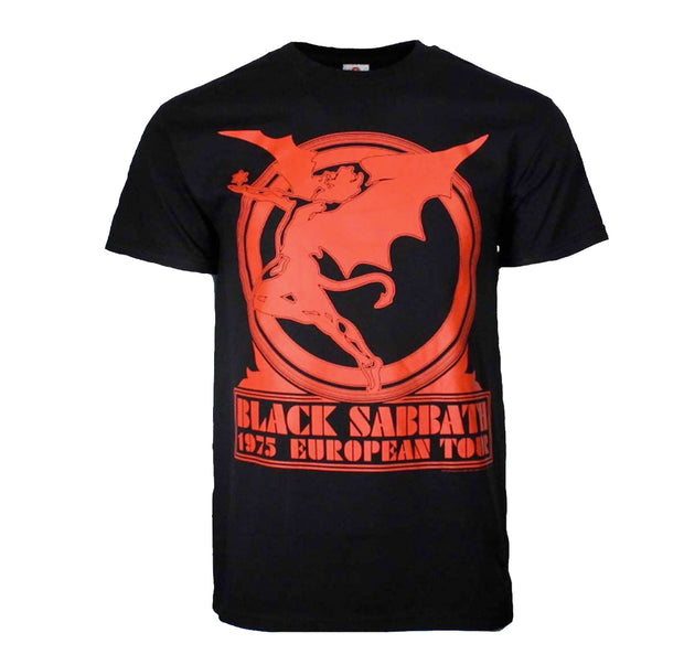 Black Sabbath European Tour Shirt
