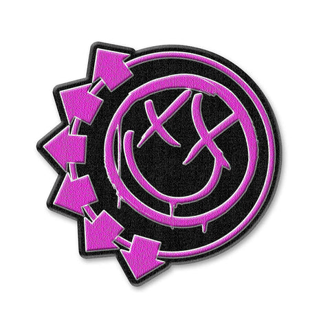 Blink 182 Smiley Face Patch