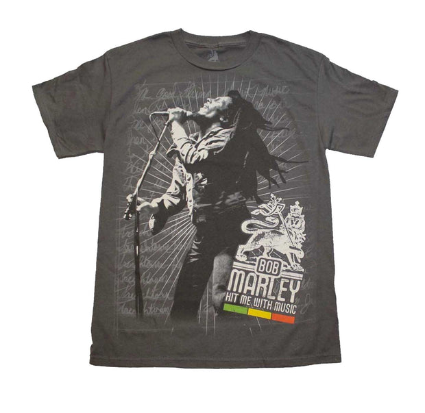 Bob Marley Hit Me Shirt