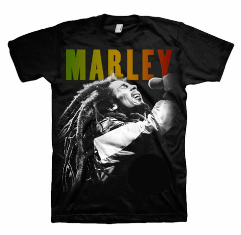 Bob Marley Singing Shirt