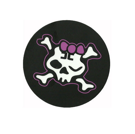 Combichrist Hello Combi Girl Skull Sticker