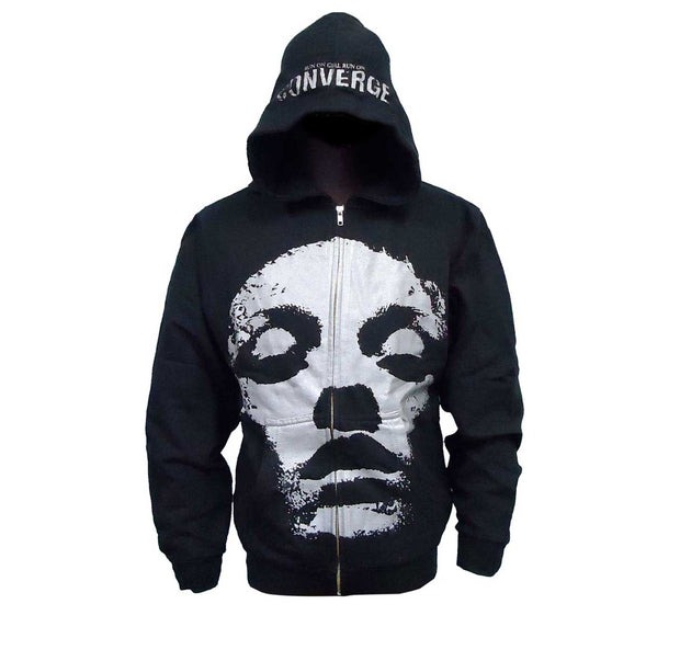 Converge Jane Doe run girl run zip up hooded sweatshirt