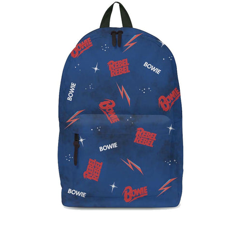 David Bowie Galaxy Rebel Rebel Backpack
