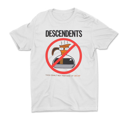 Descendents Thou Shall Not Partake of Decaf Shirt