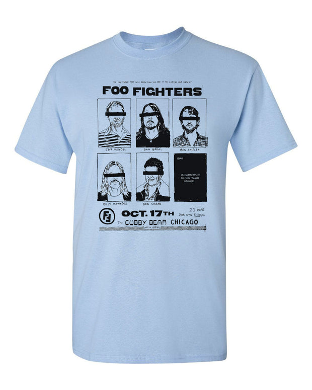 Foo Fighters Cubby Bear Chicago Shirt