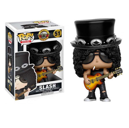 Guns n Roses Funko Toys Slash Pop Rocks Vinyl Figure