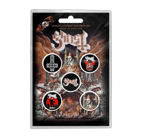 Ghost Prequelle Button Pack