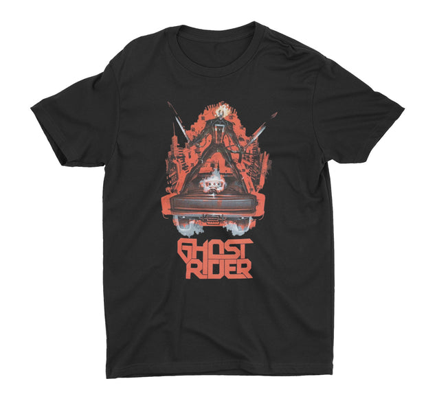 Ghost Rider Car Shirt