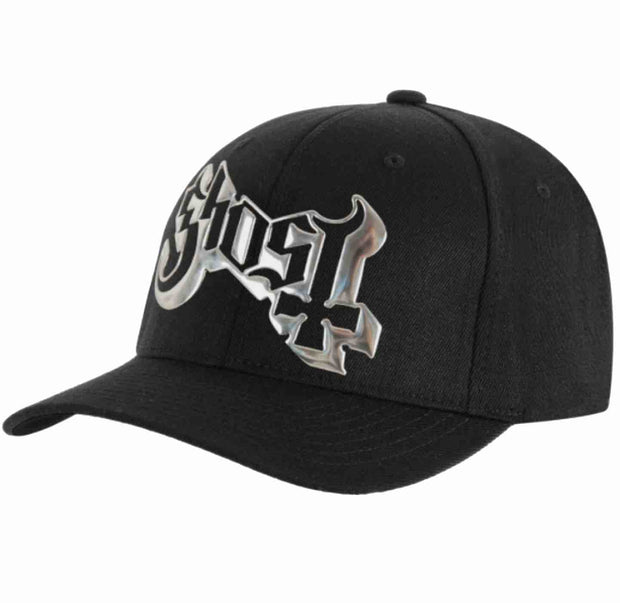 Ghost Sonic Silver Logo Hat