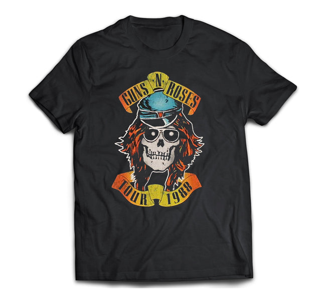 Guns n Roses Appetite for Destruction 1988 Tour Shirt