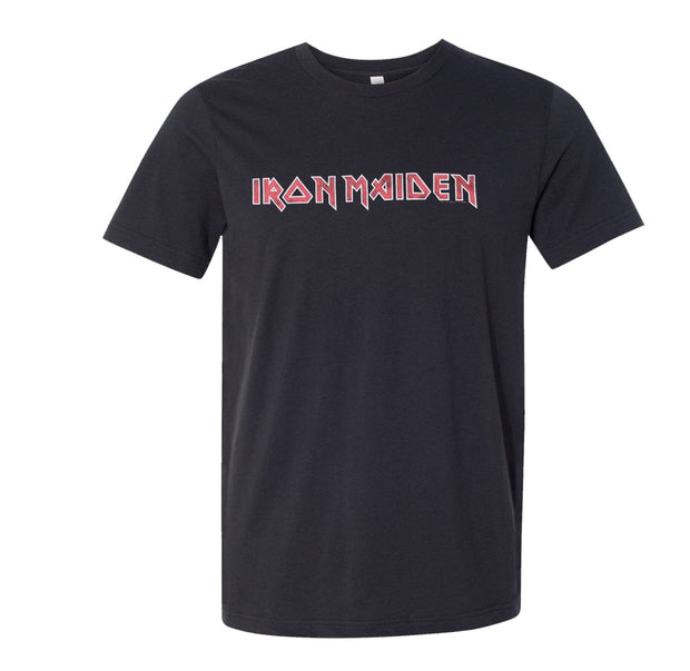 Iron Maiden Distressed Logo Shirt