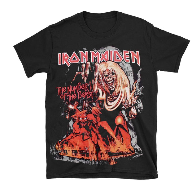 Iron Maiden Number of the Beast Shirt