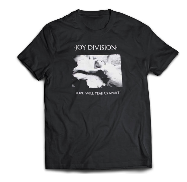 Joy Division Love will tear us apart black shirt
