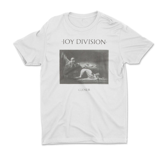 Joy Division Closer White Shirt