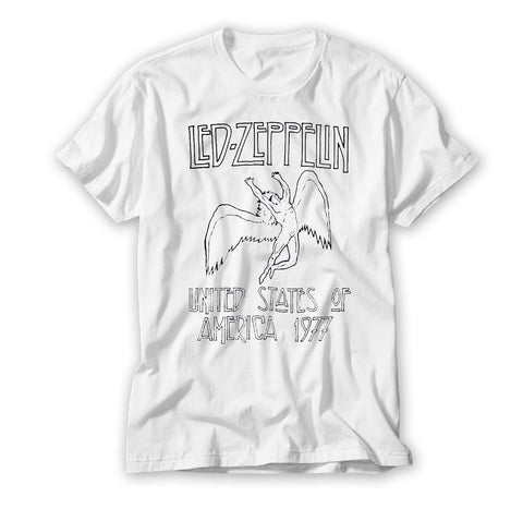 Led Zeppelin North American 77 Tour Shirt