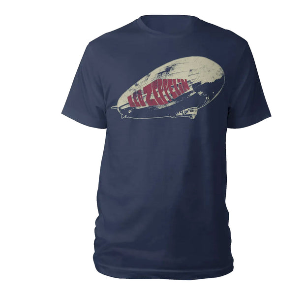 Led Zeppelin Blimp Navy Shirt