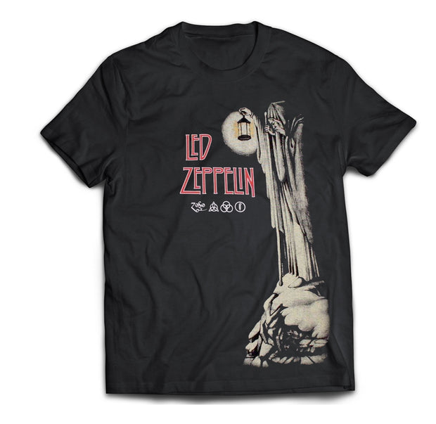Rock band Hermit T-Shirt from Led Zeppelin