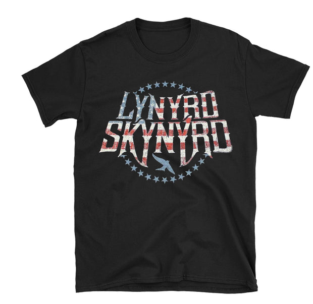 Lynyrd Skynyrd Stars and Stripes Shirt