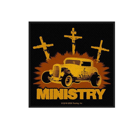 Ministry Jesus Built My Hotrod Patch