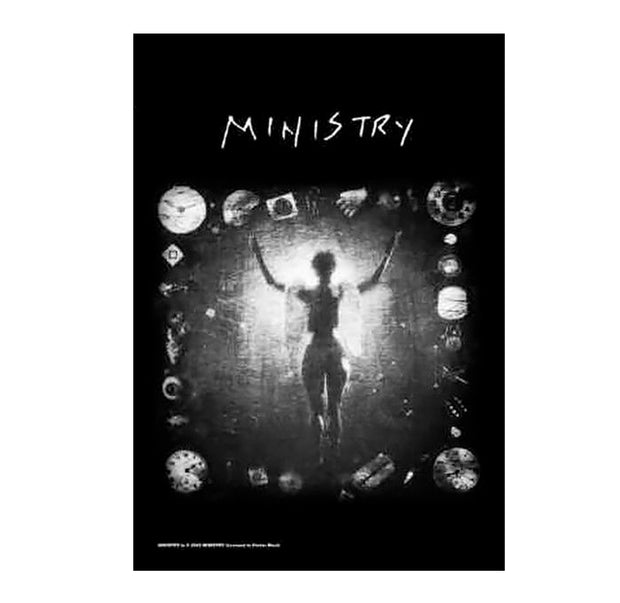 Ministry Psalm 69 Poster Flag