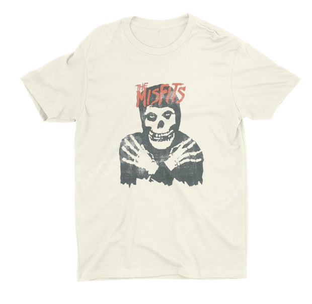 Misfits Skull Distressed Shirt