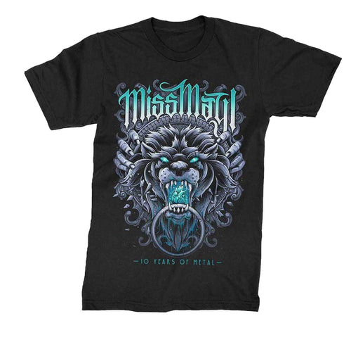Miss May I 10 Years of Metal Lion Shirt