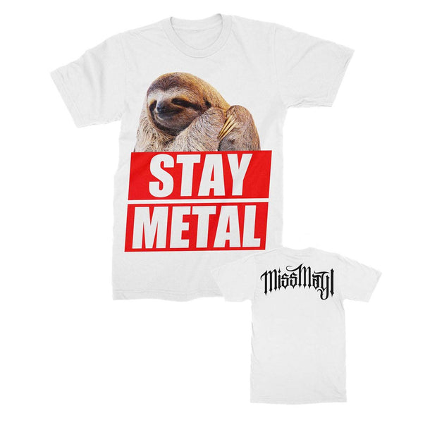 Miss May I Stay Metal Sloth band shirt