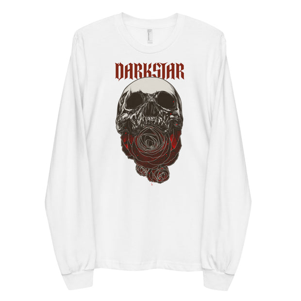 DARKSTAR Rose Skull Long Sleeve Shirt