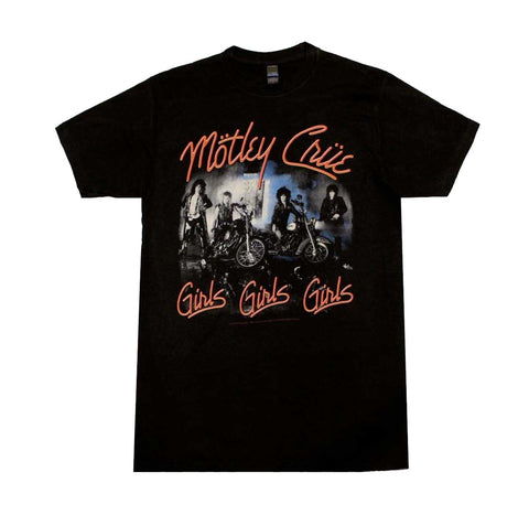 Motley Cure Girls Girls Girls Shirt
