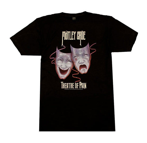 Motley Crue Theatre of Pain Mask Shirt