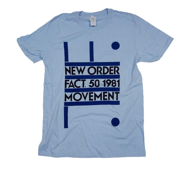 New Order Fact 50 Shirt