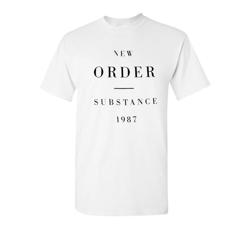 New Order Substance 1987 Shirt