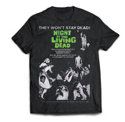 Night of the Living Dead Movie Poster Shirt