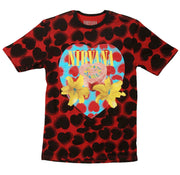Nirvana shirt all over print heart shaped box art