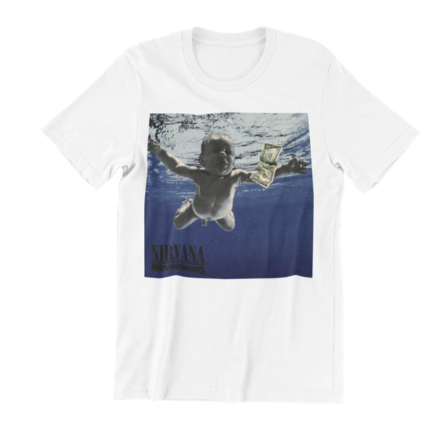 Nirvana Nevermind Album Cover Shirt