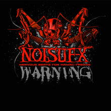Load image into Gallery viewer, Noisuf-X Warning Shirt