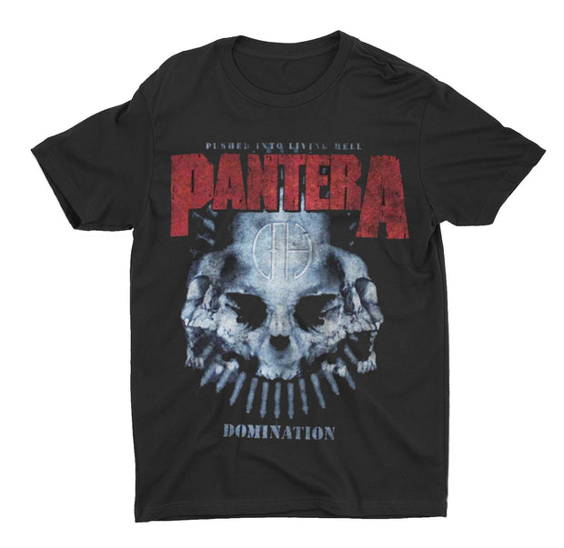 Pantera Domination Skull Shirt