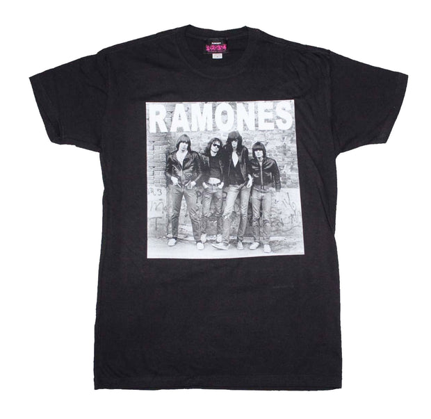Ramones band photo shirt with first album artwork