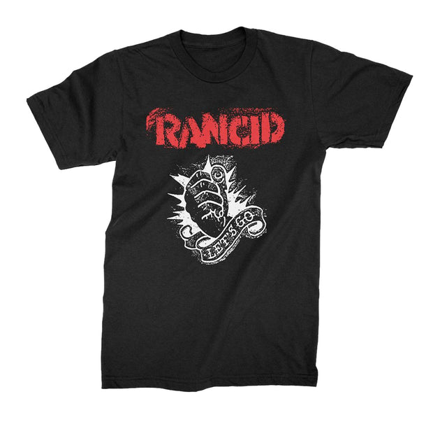 Rancid lets go fist t-shirt
