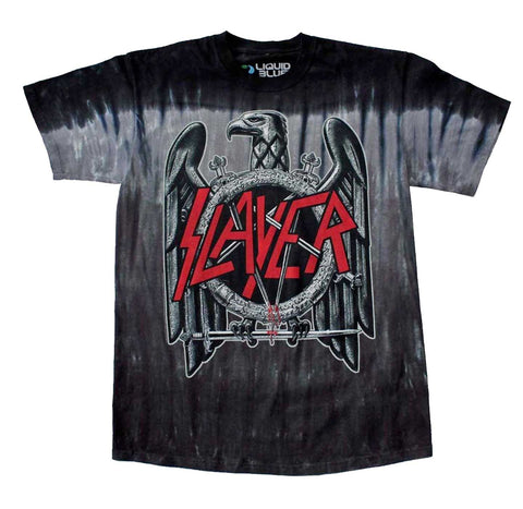slayer dyed eagle t-shirt